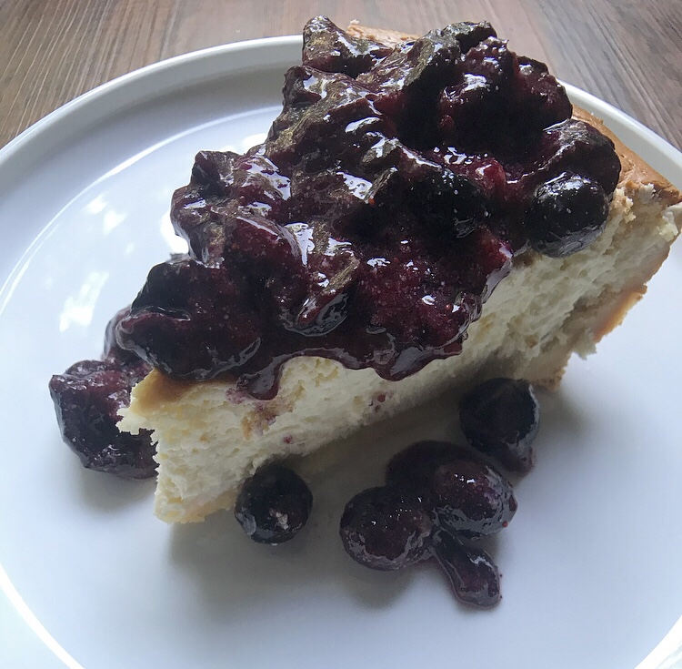 Plant Paradox approved cheesecake!