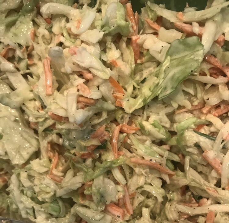 Plant Paradox coleslaw!